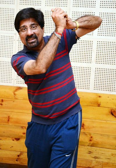 From cricketing to dancing Krishnamachari Srikkanth Rediffcom Movies