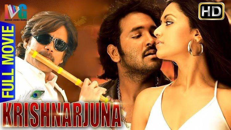 Krishnarjuna Krishnarjuna Hindi Full Movie Nagarjuna Vishnu Mamta Mohandas