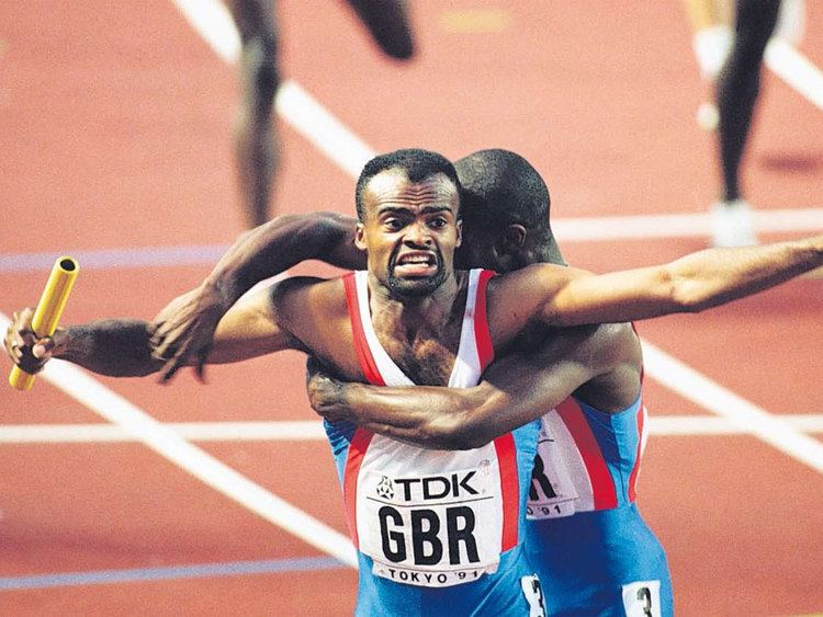 Kriss Akabusi Kriss Akabusi takes the fast track to business success The Independent