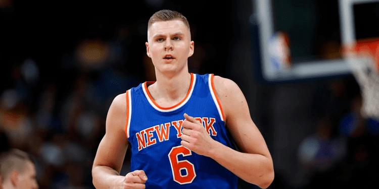 Kristaps Porziņģis Kristaps Porzingis learning incredible moves NBA should be scared