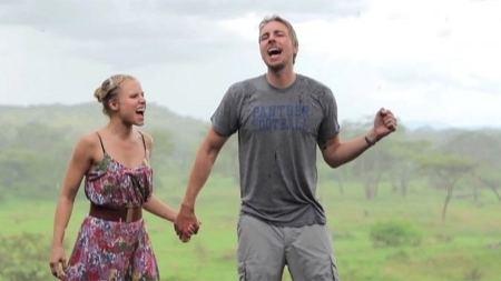 Kristen Bell Watch Kristen Bell and Husband Dax Shepard Dance Around Africa to