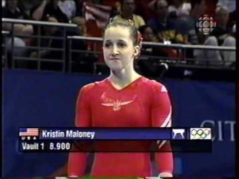 Kristen Maloney Kristen Maloney 2000 Sydney Olympics Gymnastics Prelims Famous