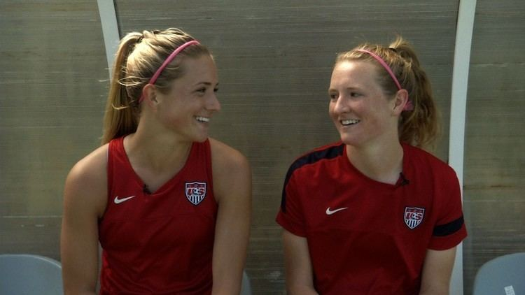 Kristie Mewis Studio 90 Kristie and Sam Mewis Make Sister History YouTube