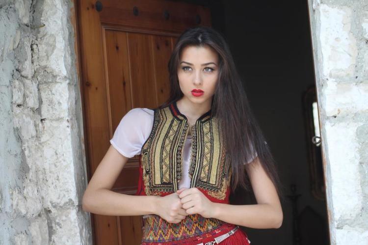 Kristina Bakiu ajaeb Kristina Bakiu is Miss Universe Albania 2013