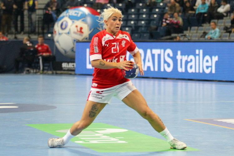 Kristina Kristiansen Kristina Kristiansen and Denmark won the bronze Timeout Mag
