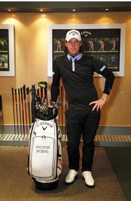 Kristoffer Broberg Rising Star Kristoffer Broberg Signs For Callaway Golf