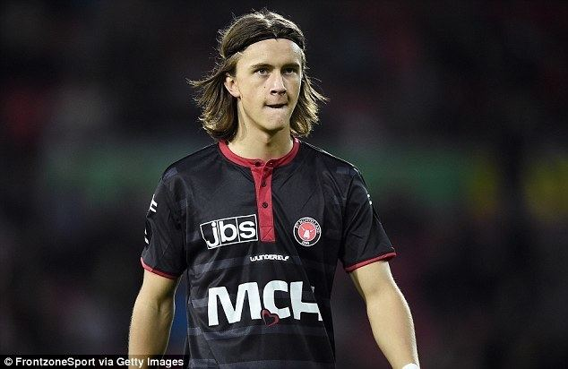 Kristoffer Olsson Arsenal youngster Kristoffer Olsson says 39Once a Gunner