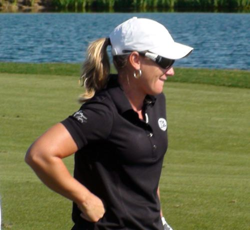 Kristy McPherson Rock and golf mix at Myrtle Beach39s quotHootiequot tournament