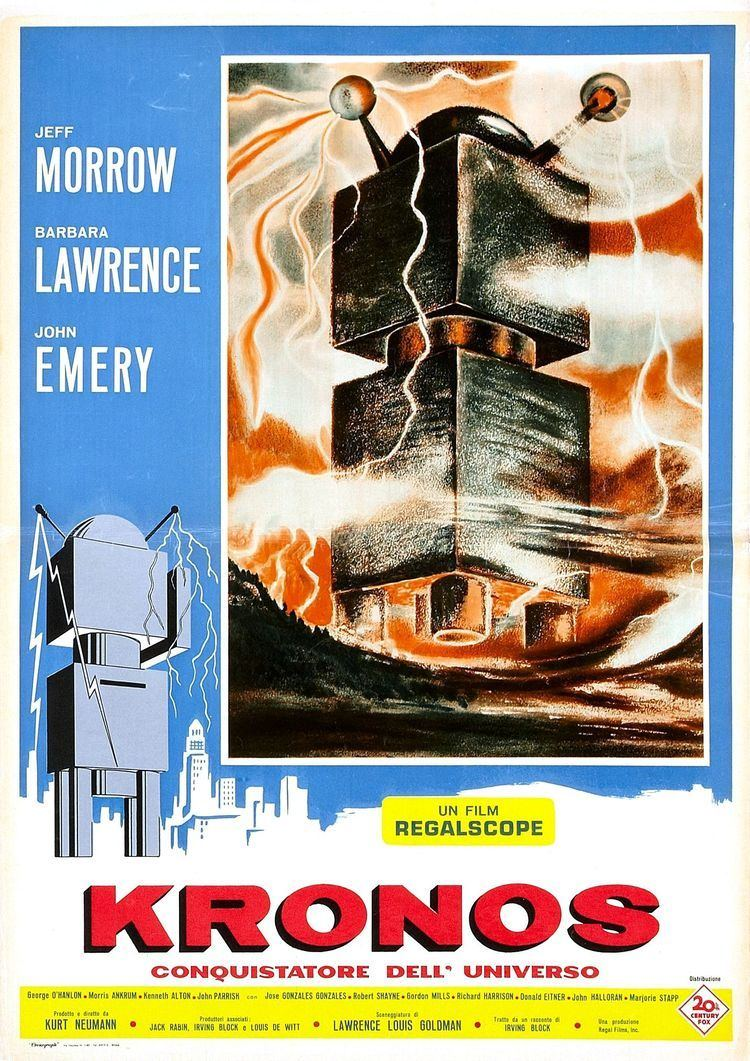 Kronos (film) 1950s film posters Wrong Side of the Art Part 8
