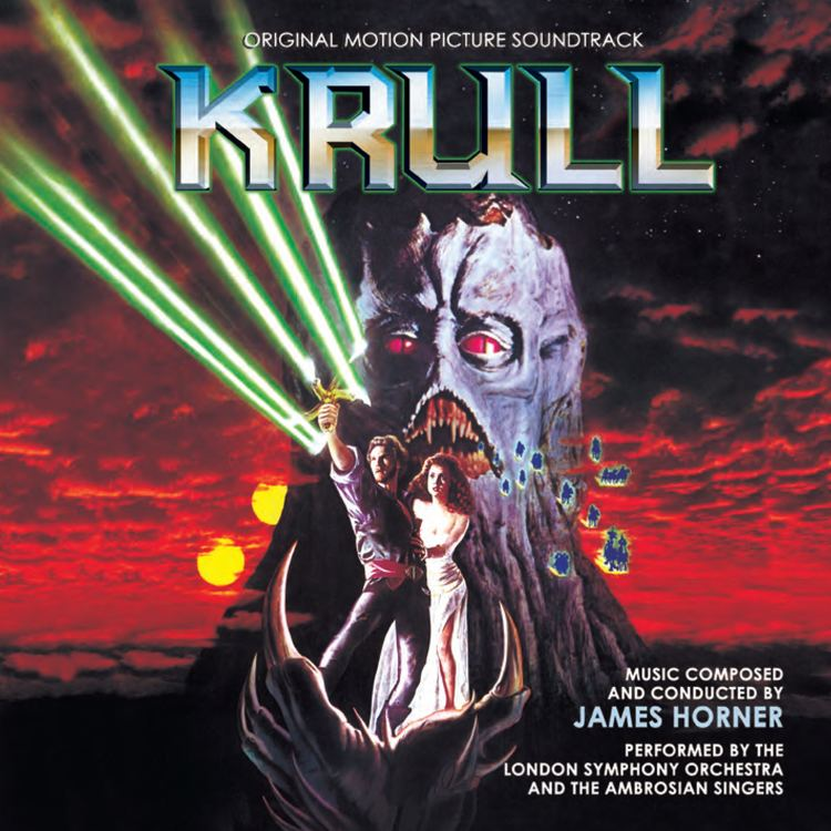 Krull (film) film music movie music film score KRULL REDUX James Horner