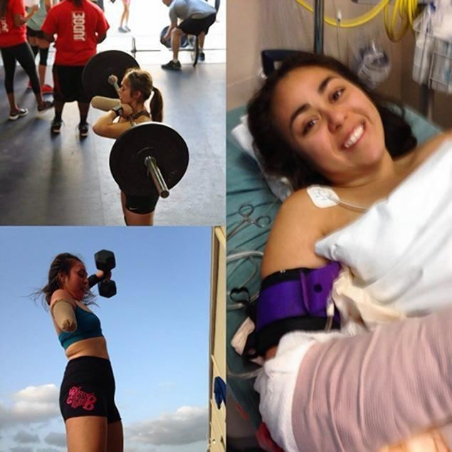 Krystal Cantu VIDEO Woman weightlifter loses arm but lifts more now