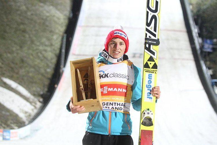 Krzysztof Biegun P w Klingenthal Krzysztof Biegun wygrywa Skijumpingpl