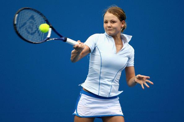 Ksenia Lykina Ksenia Lykina Pictures Australian Open 2008 Day 7 Zimbio