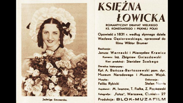 Księżna Łowicka NITROFILM Konserwacja i digitalizacja przedwojennych filmw