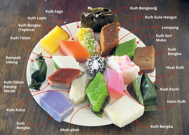 Kuih Malaysian kuih A marriage of flavours and cultures EatDrink