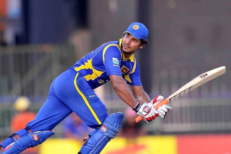Kumar Sangakkara (Cricketer) playing cricket