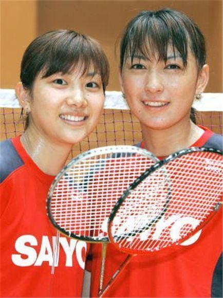 Kumiko Ogura Reiko Shiota Reiko Shiota amp Kumiko Ogura BadmintonLinkcom