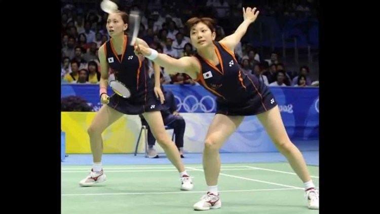 Kumiko Ogura Badminton Kumiko Ogura and Reiko Shiota JPN YouTube