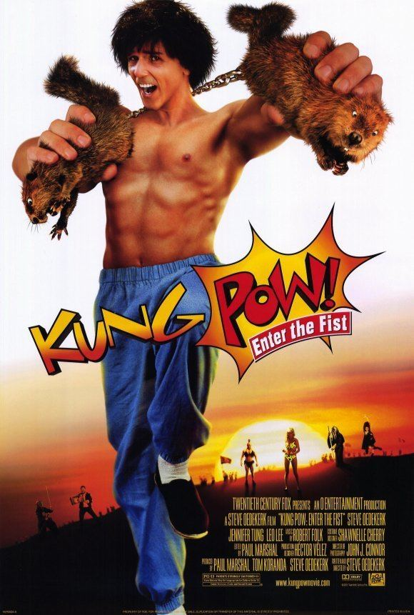 Kung Pow! Enter the Fist KungPow Enter the Fist Movie Posters From Movie Poster Shop