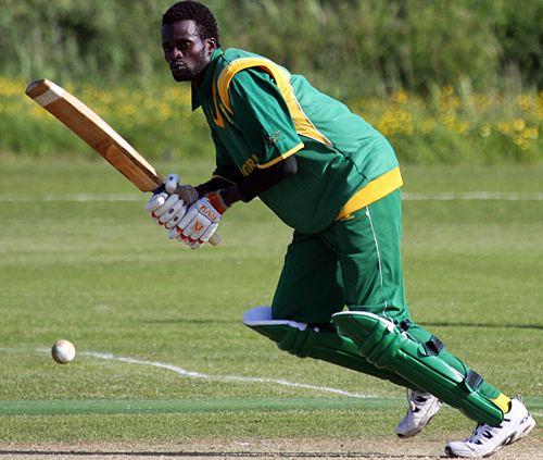 Kunle Adegbola Kunle Adegbola plays it through midwicket Photo ICC World