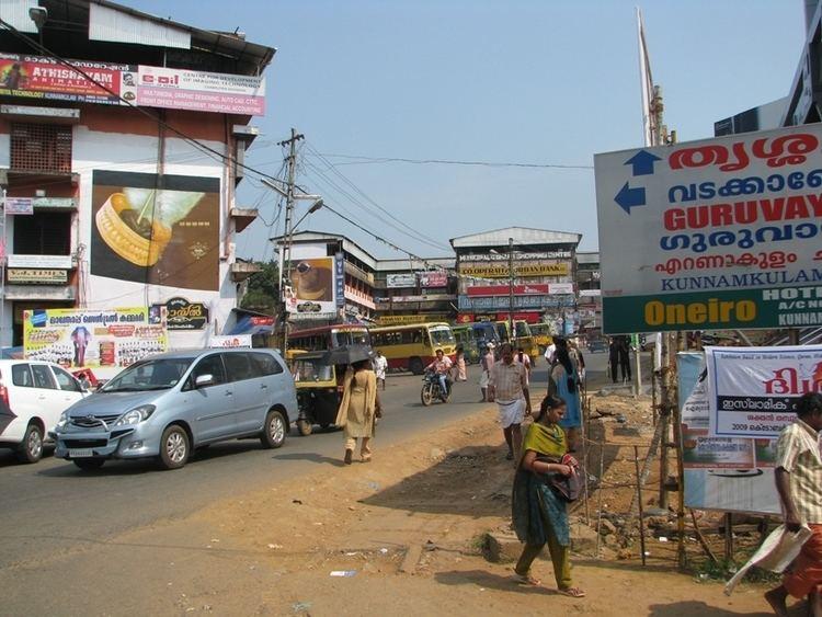Kunnamkulam in the past, History of Kunnamkulam