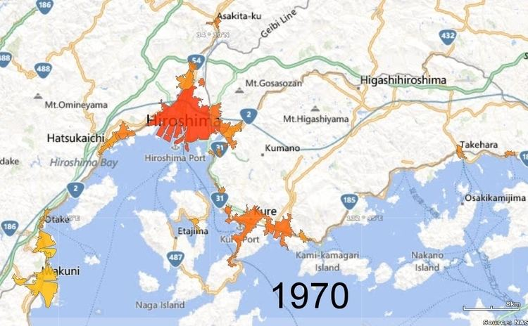 Kure, Hiroshima in the past, History of Kure, Hiroshima