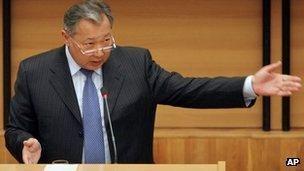 Kurmanbek Bakiyev Kyrgyzstan former president Kurmanbek Bakiyev sentenced BBC News