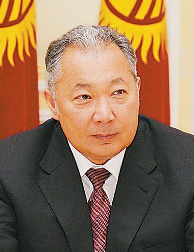 Kurmanbek Bakiyev Kyrgyz President Kurmanbek Bakiyev