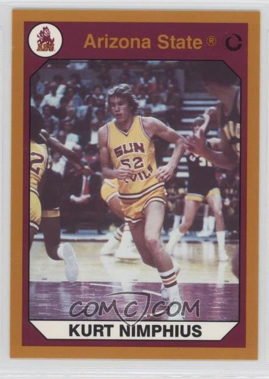 Kurt Nimphius 1990 Collegiate Collection Arizona State Sun Devils Base Gold