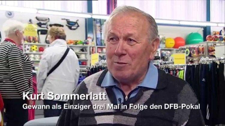 Kurt Sommerlatt Kurt Sommerlatt DFBPokal Walk Of Fame YouTube