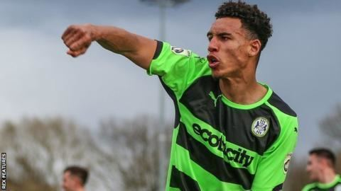 Kurtis Guthrie Kurtis Guthrie Colchester United sign Forest Green Rovers forward