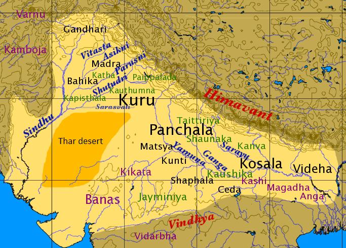 Kurukshetra in the past, History of Kurukshetra
