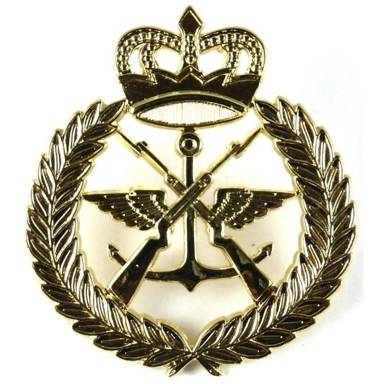 Kuwait Military Forces Military Forces Brass Cap Badge