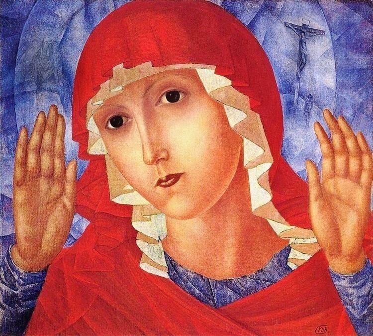 Kuzma Petrov-Vodkin Kuzma PetrovVodkin The Mother of God of Tenderness
