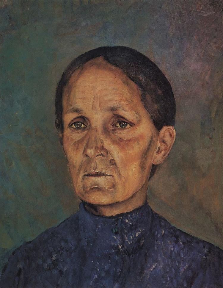 Kuzma Petrov-Vodkin Portrait of APPetrovoyVodkin artist39s mother Kuzma