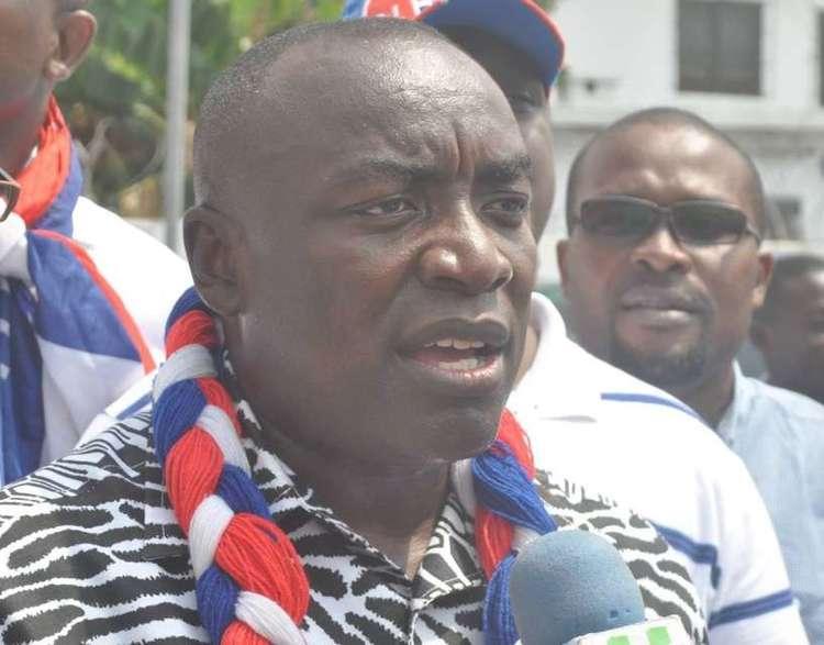 Kwabena Agyapong NPP crisis Kwabena Agyepong Sammy Crabbe suspended Politics Pulse