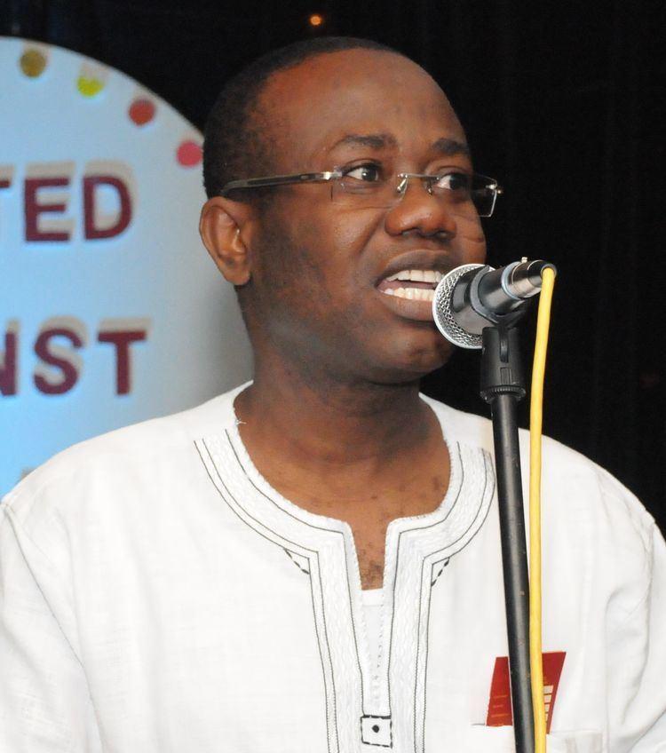 Kwesi Nyantakyi UAM Champion Ghana Football Association President Kwesi