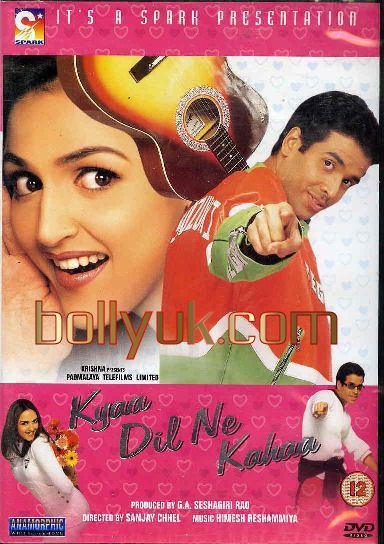 Kyaa Dil Ne Kahaa Kyaa Dil Ne Kahaa 2002 SPARK DVD