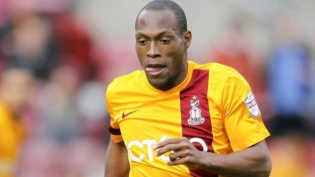 Kyel Reid BBC Sport Bradford City winger Kyel Reid out for the season