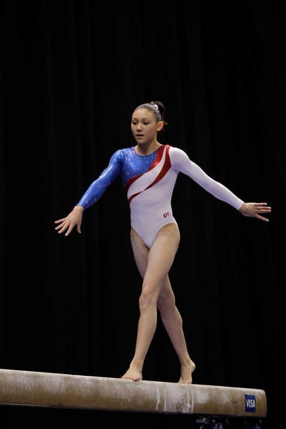 Kyla Ross 2012 Olympic gymnast Kyla Ross has firm roots in Augusta