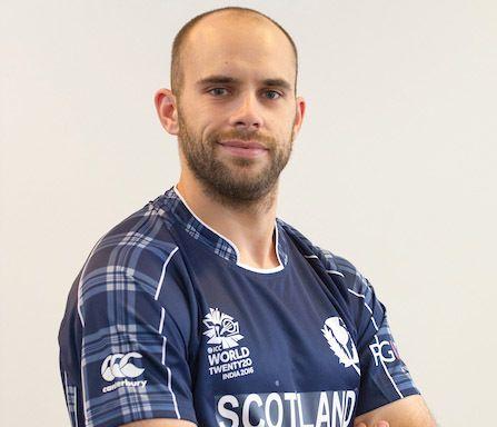 Kyle Coetzer Cricket Scotland