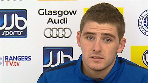 Kyle Hutton BBC Sport Rangers midfielder Kyle Hutton levelheaded