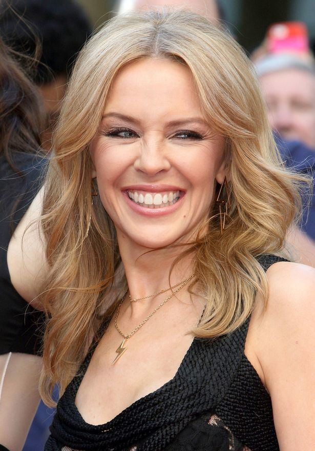 Kylie Minogue Kylie Minogue finds her own book in French store and