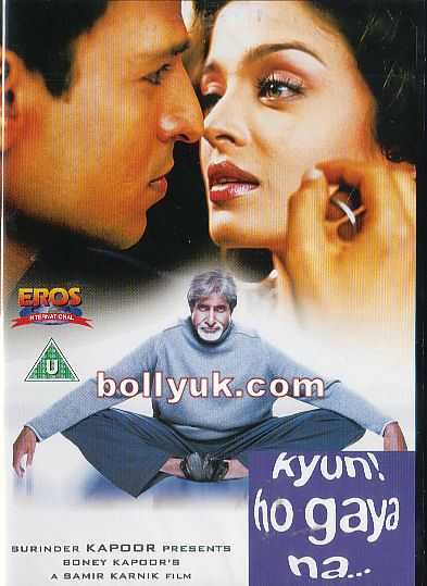 Kyun! Ho Gaya Na... Kyun Ho Gaya Na 2004 EROS DVD
