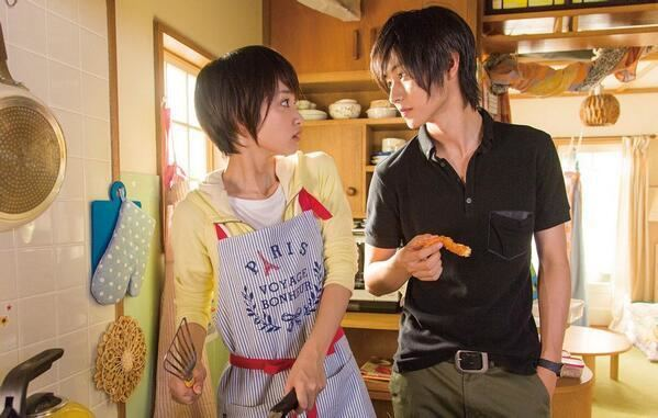 L DK movie scenes Ayame Goriki is very appealing enough as Aoi Nishimori Her smile and the way she portrays the role is suitable for the character Although it was the first