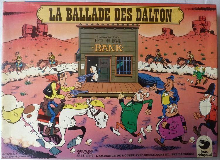 La Ballade des Dalton Ballade des Dalton Dargaud 1978