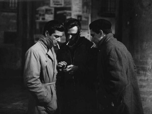 La banda Casaroli Scena del film La banda Casaroli Regia Florestano Vancini 1962