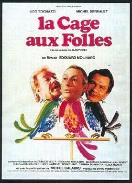 La Cage aux Folles (film) movie poster