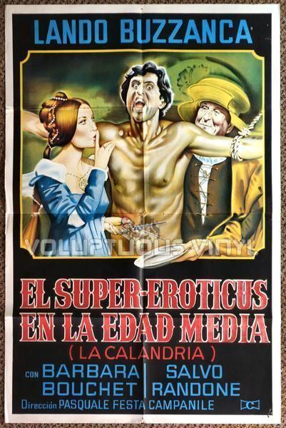 La calandria (1972 film) La calandria 1972 Argentinean 1Sheet Barbara Bouchet With