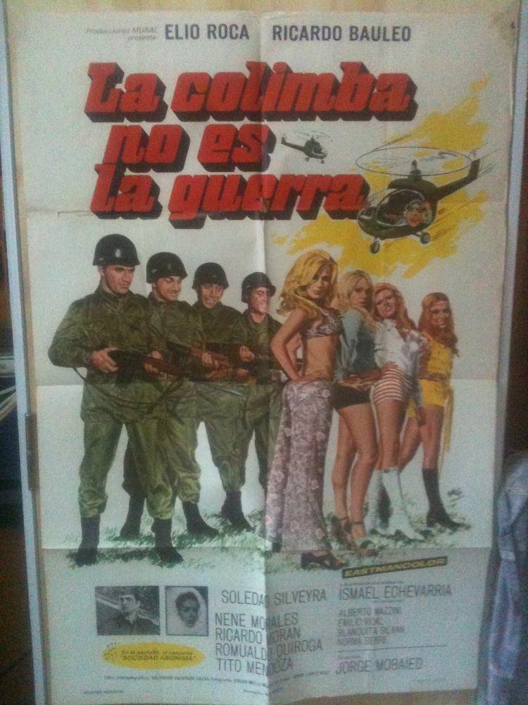 La Colimba no es la guerra Afiche La Colimba No Es La Guerra Soledad Silveyra 1972 110000